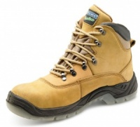 Click Traders S3 Thinsulate Nubuck Boot With Steel Toe Cap And Mid Sole