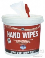 Disposable Hand Wipes (Tub of 150)