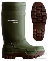 Dunlop Purofort Thermo+ Full Safety Wellington Boots - FREE HAT OFFER!