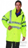 Printed High Visibility Yellow Carnoustie Jacket
