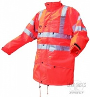 Printed High Visibility Orange Carnoustie Jacket