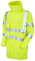 High Visibility Yellow Breathable Interactive Jacket