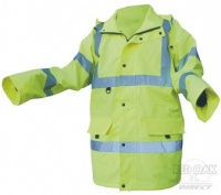 Printed High Visibility Yellow Jubilee Jacket