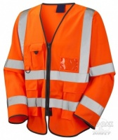 High Visibility Orange Superior Lightweight Jacket