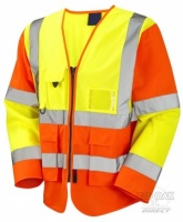 High Visibility Yellow & Orange Superior Lightweight Jacket