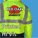 Printed Hi Vis Clothing