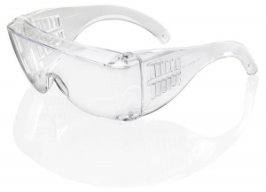 Seattle Safety Wraparound Clear Cover Spectacles