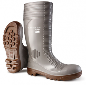 Dunlop Acifort Concrete Safety Wellington Boots In Grey