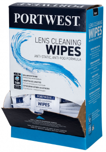 100 Lens Cleaning Wipes With Isopropyl Alcohol