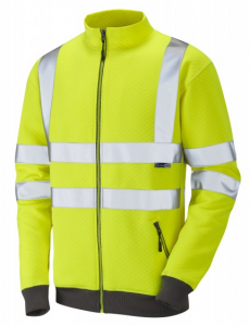 High Visibility Premium Yellow Libbaton Track Top