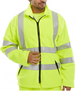 High Visibility Yellow Carnoustie Interactive Fleece