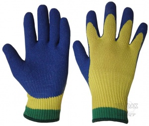 Part-Coated Kevlar Glove