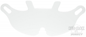 Clear Replacement Visor For Endurance Helmet