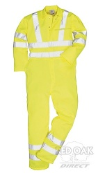 High Visibility Yellow Boilersuit