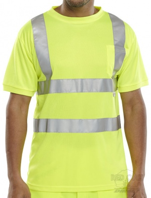 High Visibility Yellow T-Shirt ENISO 20471