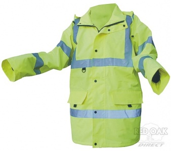 High Visibility Yellow Jubilee Jacket