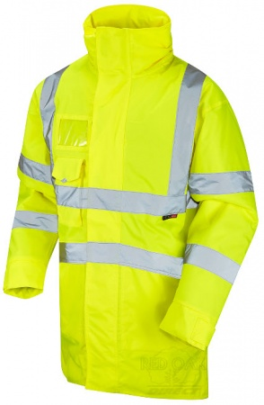 High Visibility Marwood Yellow Superior Waterproof Jacket - ENISO 20471