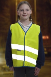 Neon Kidz High Visibility Children's Vest (Yellow or Orange)