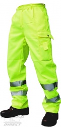 High Visibility Poly Cotton Trousers