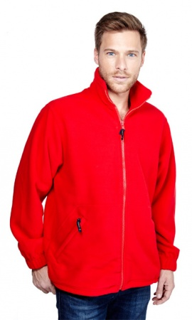 Premium Full Zip Unisex Micro Fleece Jacket