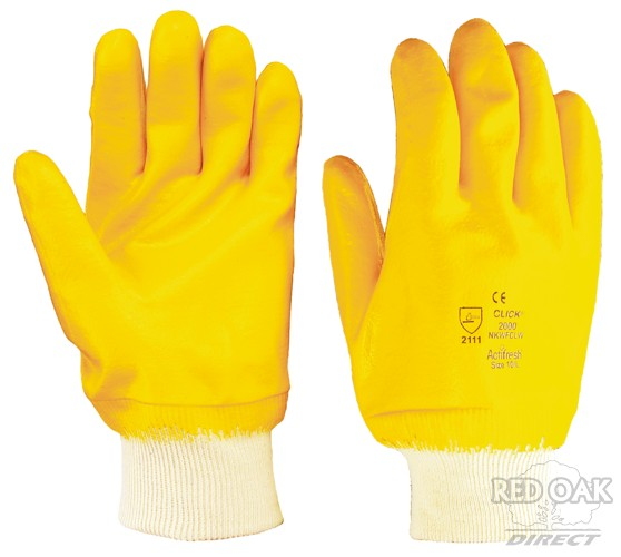 Lightweight Yellow Nitrile Glove Redoakdirect Com