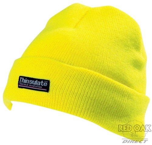High Visibility Yellow Beanie Hat - redoakdirect.com ccd996ac31f3