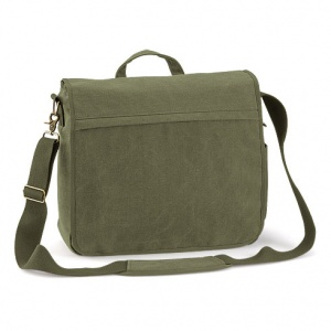 Quadra QD665 Canvas Laptop Messenger Bag