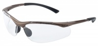 Bolle Contour Platinum Clear Safety Spectacles