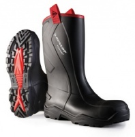 Dunlop Purofort Rugged Waterproof Rigger Boot With Steel Toe Cap And Mid Sole