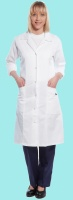Ladies Princess Line Laboratory Coat