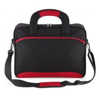 Quadra QD831 Black & Red Professional Document Bag
