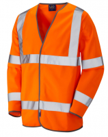 High Visibility Lightweight Orange Jacket