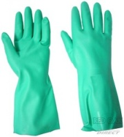 Heavy Duty Nitrile Green Glove
