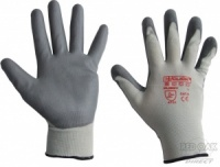 Grey PU-Coated Glove