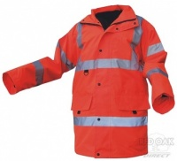 Printed High Visibility Orange Jubilee Jacket