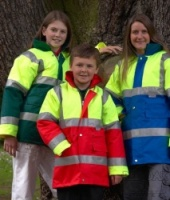 High Visibility Two-Tone Children's Jacket
