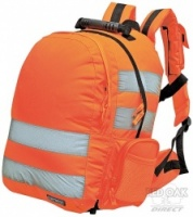 Portwest B905 High Visibility Orange Rucksack