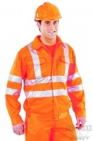 Rail Spec High Visibility Orange Jacket
