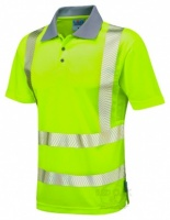 Superior Coolviz High Visibility Yellow Advanced Polo Shirt
