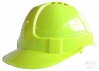 Saturn Yellow Safety Helmet