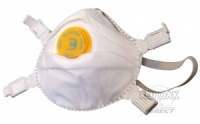 BBP3V Valved Respirator Mask (5 Pack)