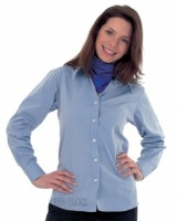 Ladies Oxford Long Sleeve Shirt