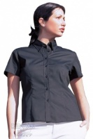 Ladies Oxford Short Sleeve Shirt